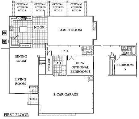 Pulte Homes Floor Plans Las Vegas