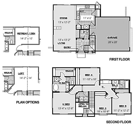 Centex Homes Floor Plans 2005