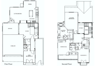 two story floorplan