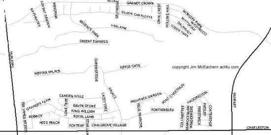 Queensridge map